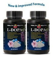 natural dopamine supplement L-DOPA 99% EXTRACT, antidepressant effects 2 Bottles
