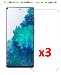 3x Samsung Galaxy S20 FE / S20 FE 5G Screen Protector w/ cloth