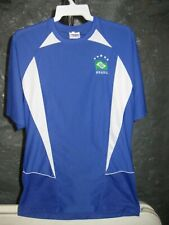 Brazilian Soccer Classic Blue & White Brasil Medium Jersey