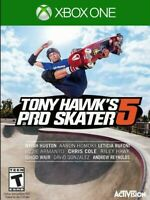Tony Hawk's Pro Skater 5 XBOX ONE Game Brand New - Factory Sealed Video Game