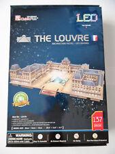 3D Puzzle Louvre LED / 2.Wahl / Cubic Fun Licht Light France Frankreich Paris