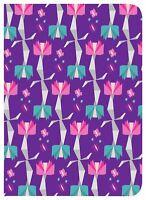 10 x Tactus Buckuva iPad Mini 1 2 & 3 Case / Cover - Purple Floral - Job Lot