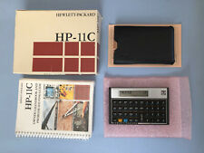 Vintage Collectible HP 11C Scientific Calculator with Box, sealed Book