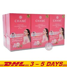 Chame Hydrolyzed Collagen Tripeptide Plus 10000mg 15g x 36 Sachet (6 Boxes)