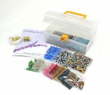 Bumper Jewellery making kit beads cord beading wire gift party activity