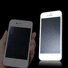 Front & Back Silver Diamond Sparkle Glitter Screen Protector For iPhone5 5S SE