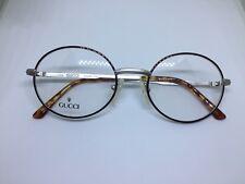 GUCCI GG2240 occhiali da vista unisex vintage metal oval glasses frame Italy