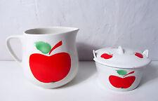 Pichet et pot pomme Vintage