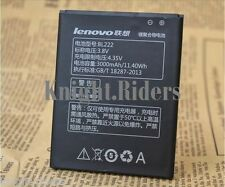 ORIGINAL LENOVO BL222 BATTERY For LENOVO S660 S668T WITH 3000mAh