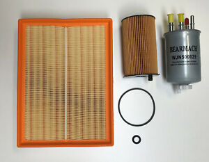 Land Rover Discovery 3, 2.7 TDV6 Filter Kit to 2006 + Workshop Manual CD