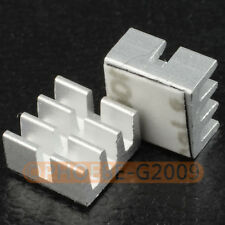 20 pcs 6.5x6.5x3.5mm Heatsinks for Avalon Antminer ASIC Bitcoin Miner IC Chip