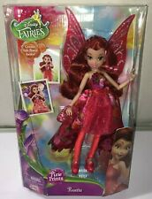 "Disney Fairies Pixie Prints Rosetta Doll 11"" NEW MINT JAKKS 2015"