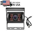 4Pin Rear View Backup Camera For Truck Van HD CCD IR Night Vision Waterproof+10m