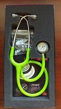 "3M Littmann Classic III 27"" Stethoscope LIME GREEN #5829 New in Box Warranty"