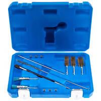Einspritzdüsen Dichtsitz Werkzeug 14-teilig Injektor Schacht Reinigung Set BGS