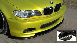 Schwert Lippe Spoiler Glanz ABS incl ABE passend für BMW E46 mit M Technik 2