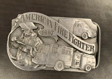 1997 Siskiyou American Firefighter Commemorative Belt Buckle