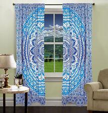 Mandala Curtain Indian Wall Drapery Tapestry Door Window Balcony Curtains Panels