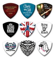 50 X Personalizadas Impresas Premium Bass Guitar Picks Púa Fender 1.00 Mm