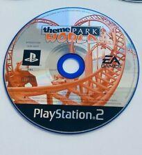 Theme Park World-Sony ps2 Playstation 2 Action Simulation Kinder Spaß Videospiel