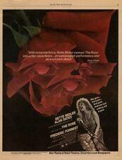 Bette Midler film advert 1980 RS-POIL