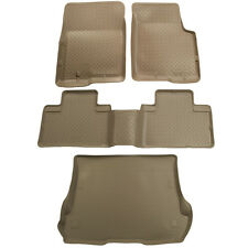 Husky Liners Classic 2000-2005 Ford Excursion Floor Mats Liner Tray Set - Tan