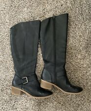 Old Navy Black Knee High Boots Size 7