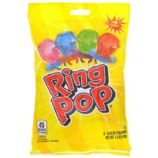 Ring Pop Candy 1 Bag containing 4 Ring Pops FREE SHIPPING