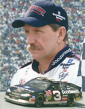 DALE EARNHARDT SR. 8 X 10 PHOTO WITH ULTRA PRO TOPLOADER
