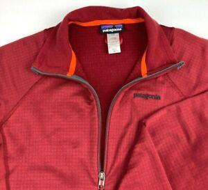 Patagonia R1 Regulator Polartec Grid Waffle Fleece Full Zip Thumbholes Jacket
