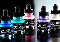 Acrylic artists' Ink Daler Rowney FW Pigmented Water-Resistant Different Colours