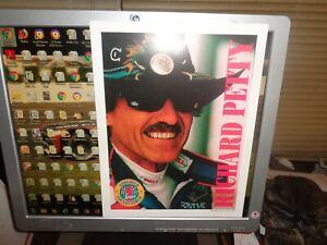 Richard Petty Vintage Charlotte Observer 8 x 10 NASCAR Postcard