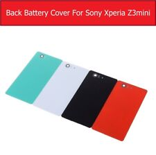 Rear Back Housing Glass+Battery Cover For Sony Xperia Z3 Compact Mini M55W+1Film