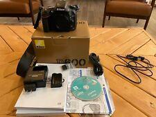 Nikon D600 24.3MP Digital SLR Camera - Black (Body Only)  Shutter count 2996