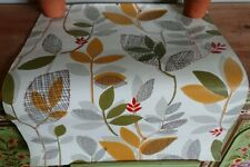 1950 sample original Wallpaper Vintage/Retro leaves autumn mid century Pattern