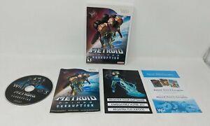 Metroid Prime 3 Corruption Nintendo Wii Complete w/ Manual & Disc & Inserts VTG