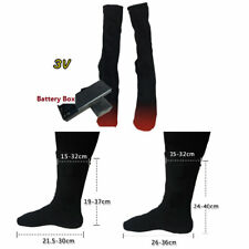Battery Operated Electric Heated Thermal Socks for Chronically Cold Feet free