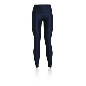 Under Armour Womens UA HG Branded Leg NS Navy Blue Sports Running Breathable
