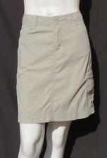 PATAGONIA Khaki Beige Quick Dry Lightweight Travel Active Cargo Skirt size 6