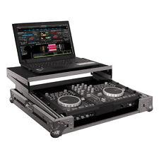 """CASE RACK für 19"""" Controller und Laptop Flightcase DJ Mixer Laptop NEU"""