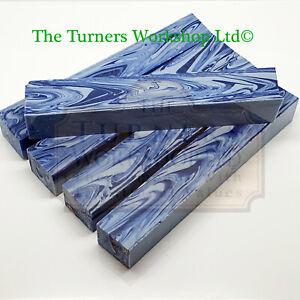 WOOD-TURNING -  5 x Erinoid Periander Pen Blanks