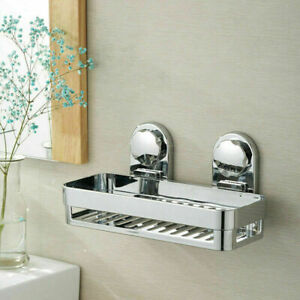 Bathroom Storage Shower Suction Caddy Bathroom Tidy Storage Basket Shelf Holder