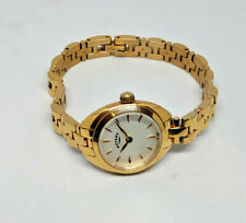 Ladies Rotary Rose Gold Plated Petite White Dial Watch
