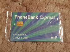 BT CHIP PHONECARD PHONEBANK EXPRESS MINT SEALED