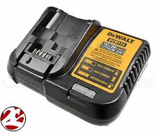 New DeWALT DCB112 12V 20V Li ion Battery Charger replaces DCB107 DCB113 DCB115