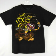 Graphic Shirt The Muppets Graphic T- Shirt Animal The Drummer Black Size M