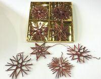 Weihnachten Baumbehang Strohsterne 12 Stück Ø 10 cm