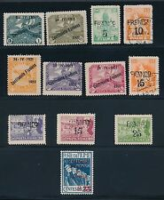 1920 - 1924 Fiume (22) ISSUES; W/FAULTS AS SHOWN; CV $208