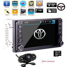 Car Stereo Radio DVD Player GPS Navigation For Toyota Corolla Camry Hilux RAV4