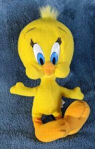 """1994 Vintage Applause Warner Brothers Looney Tunes 9"""" Tweety Bird Plush"""